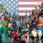 équipe de super héros illustration