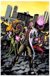 SuperSix le jeu de rôle de super héros couverture