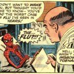 super héro malade