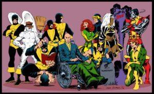 Équipe des héros illustration x men