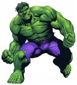 le puissant hulk le monstre tout vert pour supersix. Black Bedroom Furniture Sets. Home Design Ideas