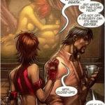 les super héros et le sexe, exemple soft