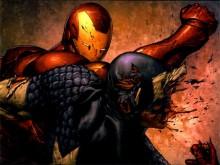 gérer les conflits, exemple de captain américa contre iron man dans civil war