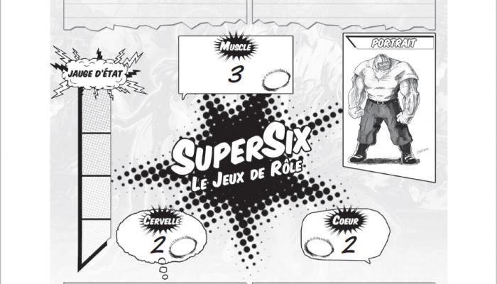 fiche de personnage de colosse pour supersix aperçu