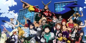 my hero academia illustration